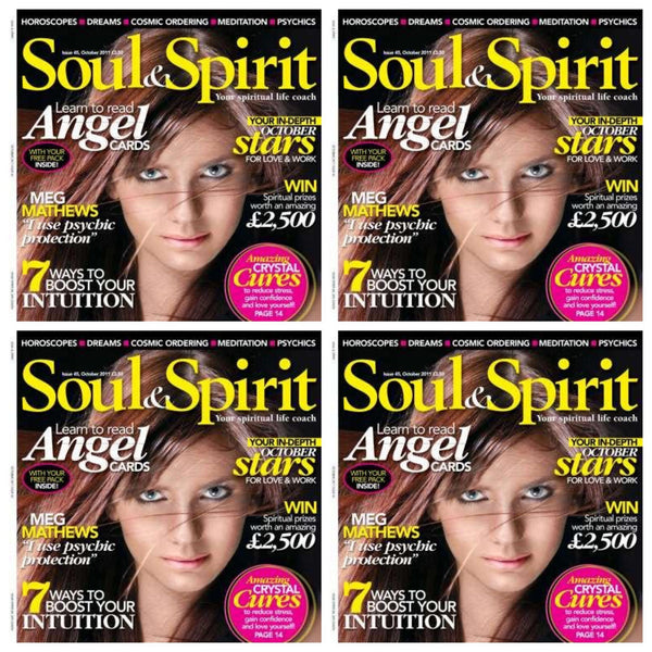 Maya Fiennes in Soul & Spirit Magazine, October 2011