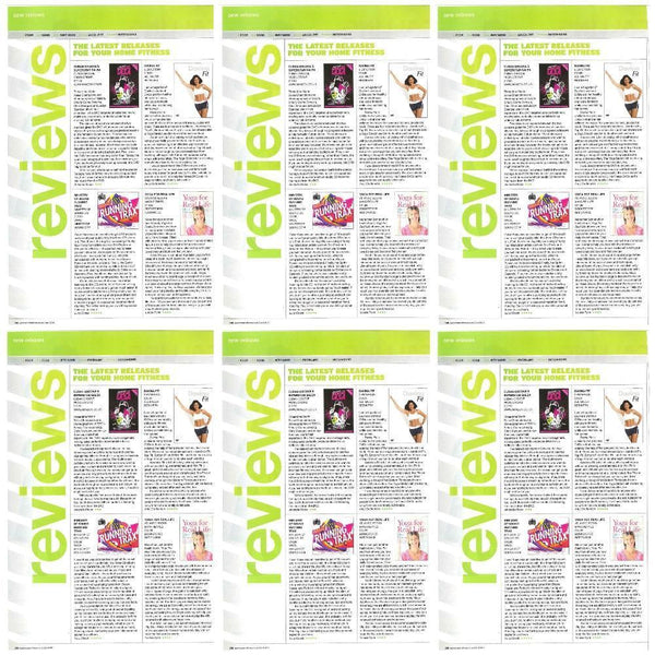 Maya Fiennes' Book Review in Women's Fitness Magazine