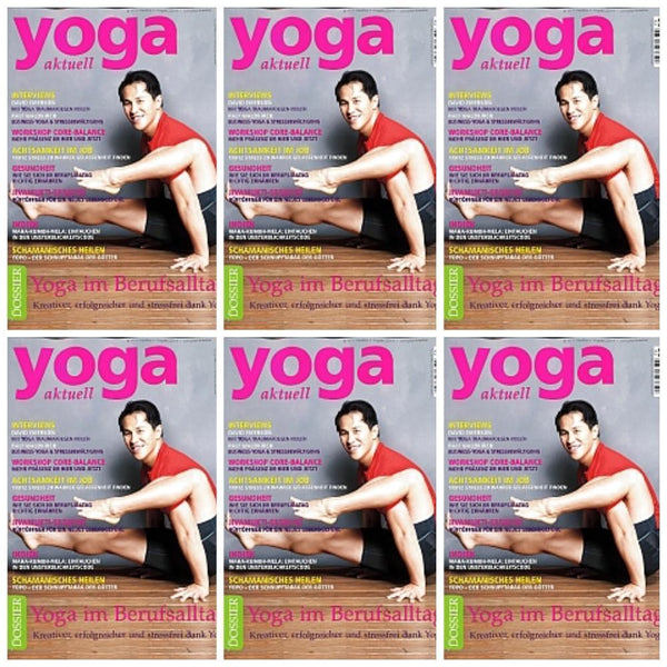 Maya Fiennes in Yoga Aktuell Magazine, February/March 2013