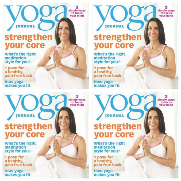 Maya Fiennes in Yoga Journal, January 2012