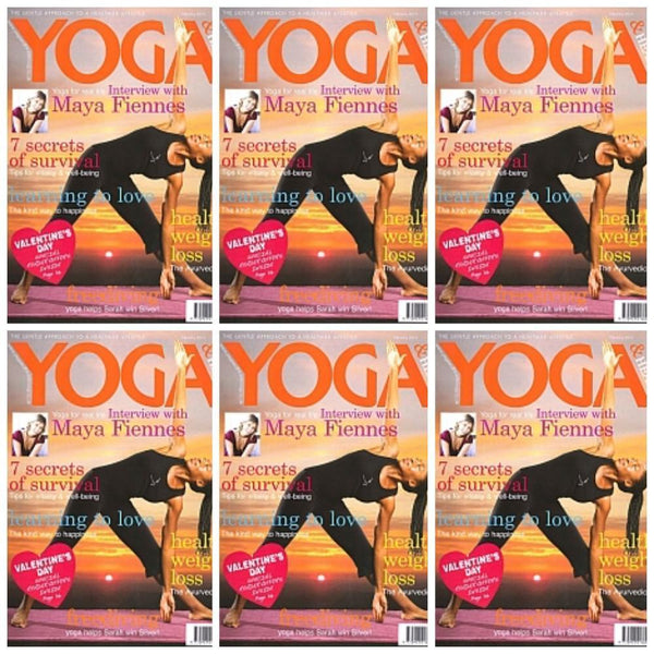 Maya Fiennes in Yoga Magazine, February 2010
