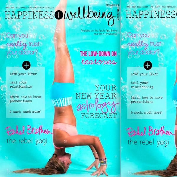 Maya Fiennes in Happiness+Wellbeing, January 2014