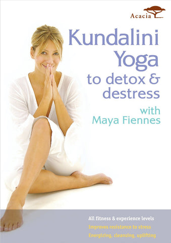 Kundalini Yoga with Maya Fiennes Detox and Destress