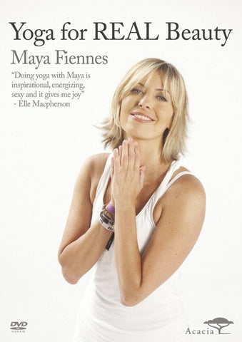 Maya Fiennes Yoga DVD Yoga For Real Beauty