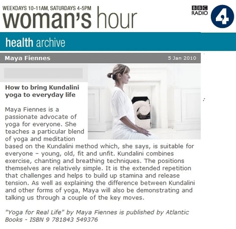 Maya-Fiennes-BBC-Radio-4-Womans-Hour-January-2010