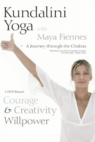 Maya Fiennes Yoga Courage Creativity and Willpower