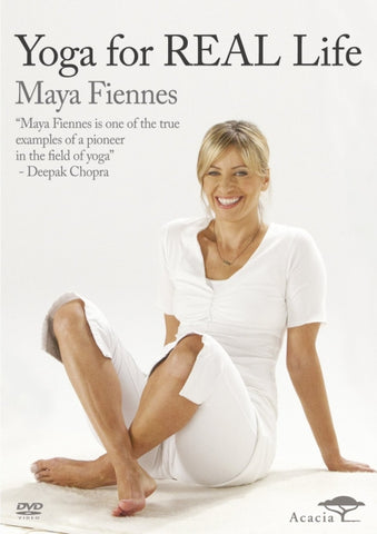 Maya Fiennes DVD yoga for real life