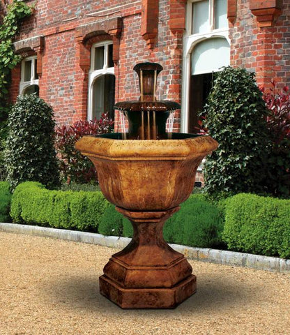 Kensington Cast Stone Water Fountain