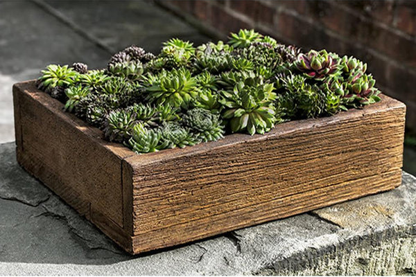 Barn Board Garden Planter - Medium