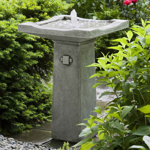 Bjorn Small Water Fountain By Outdoorartpros