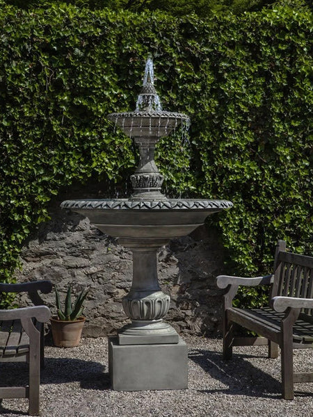 Charleston Tiered Outdoor Water Fountain