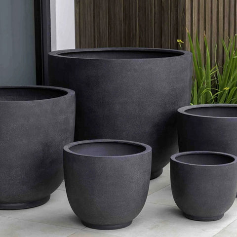 Danilo Planter Set of 5 in Premium Lite large outdoor planters