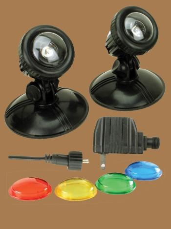 Submersible Light Kits by Outdoor Art Pros | Fountain Accessories