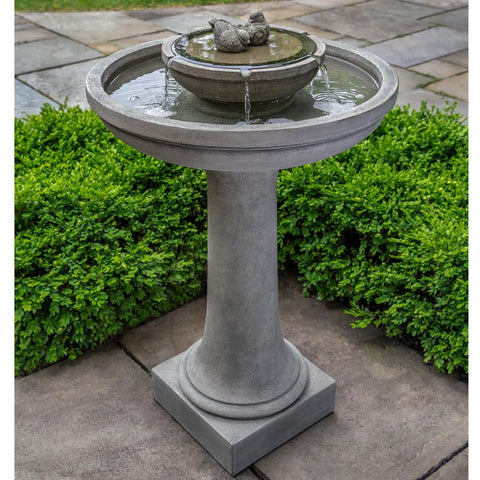 Top 17 Bird Bath Fountains For Your Backyard