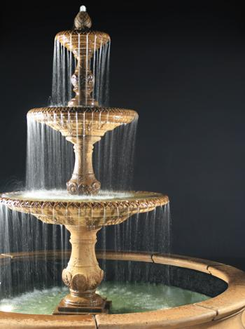 3 Tier Four Season Fountain for Pond