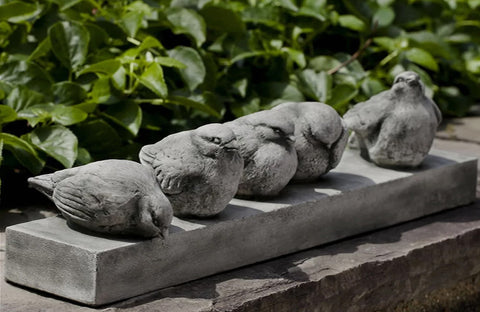 Happy Hour Cast Stone Garden Statue
