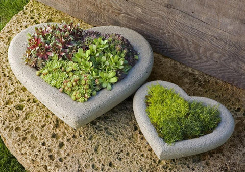 Heart Garden Planter by Outdoor Art Pros