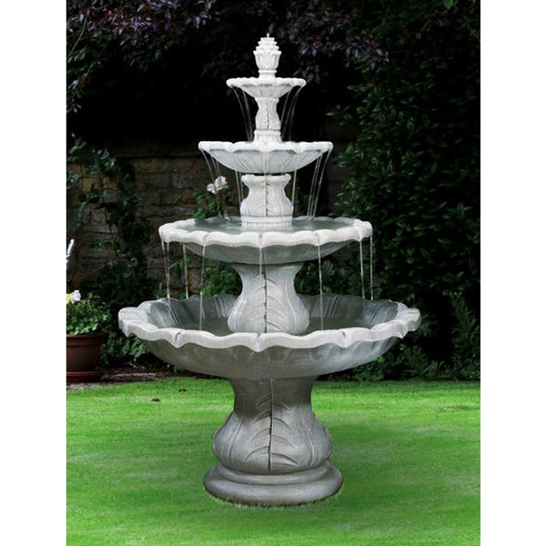 Large Classical Finial Outdoor Fountain