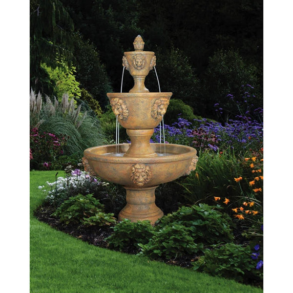Large Three-Tier Leonesco Fountain