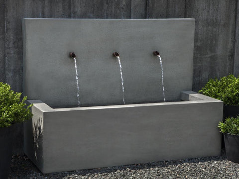 Top 20 Outdoor Wall Fountains Outdoor Water Feature Ideas