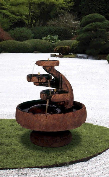 Mill Tier Garden Water Feature
