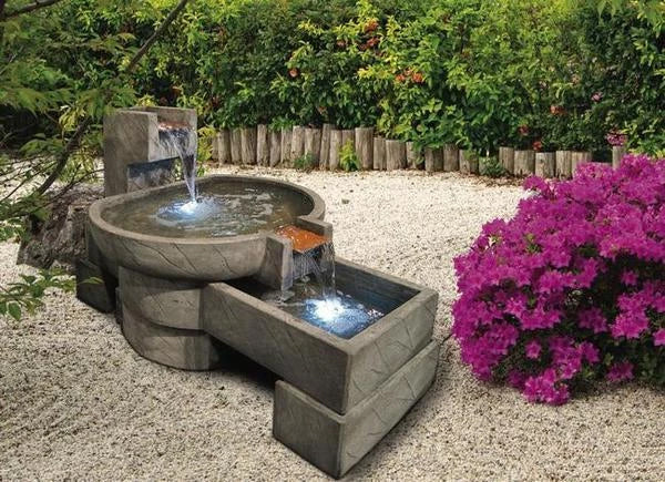 NeoStone Cascade Outdoor Water Feature