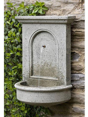 Portico Wall Outdoor Water Fountain