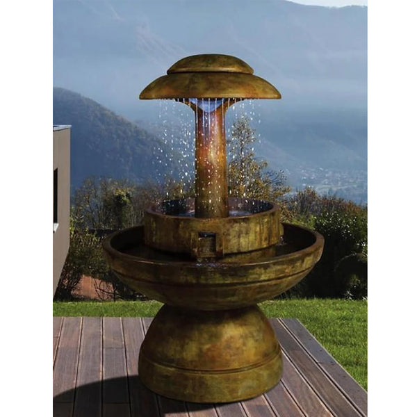 Ring of Diamonds Outdoor Fountain