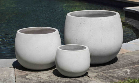 Sandos Planter in Playa Blanca - Set of 3 by Outdoor Art Pros