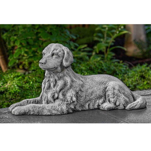 Small Retriever Garden Statue by Outdoor Art Pros