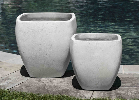 Tecate Planter in Playa Blanca - Set of 2 by Outdoor Art Pros