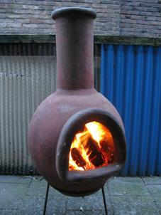 Outdoor Chiminea