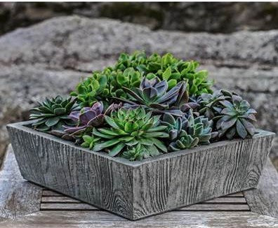 Barn Board Tapered Planter