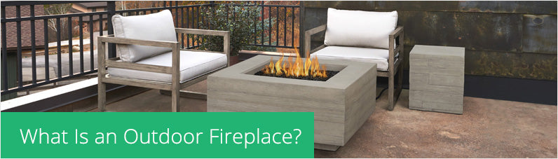 OUTDOOR FIREPLACE PROPANE/NATURAL GAS FIRE TABLE