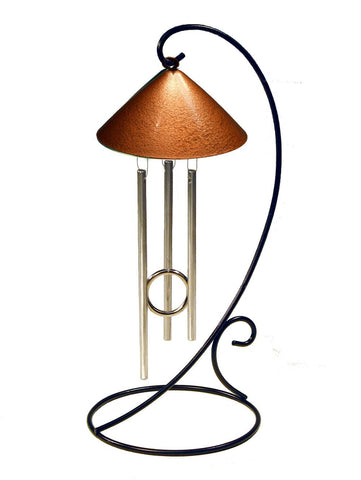 Metallic Collection Sprite Solar Chimes Décor - Outdoor Art Pros