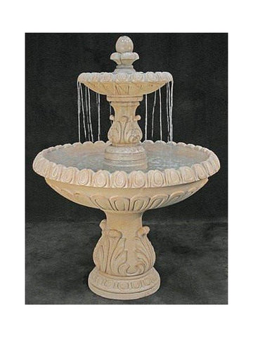 International Tiered Garden Fountain - Outdoor Art Pros