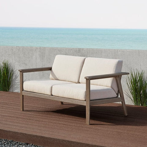 Speer Two Seat Bench by Real Flame - Outdoor Art Pros
