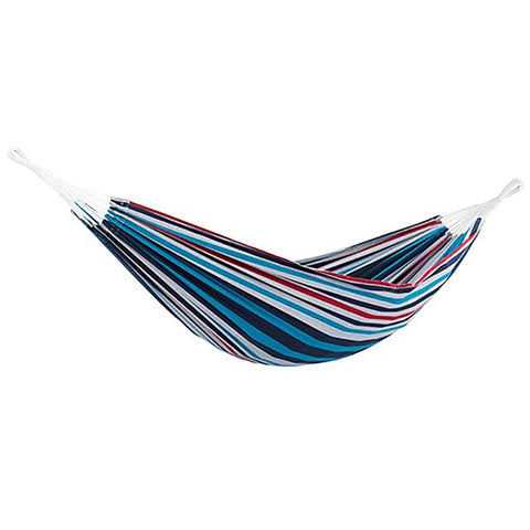Denim Brazilian Style Single Hammock - Outdoor Art Pros
