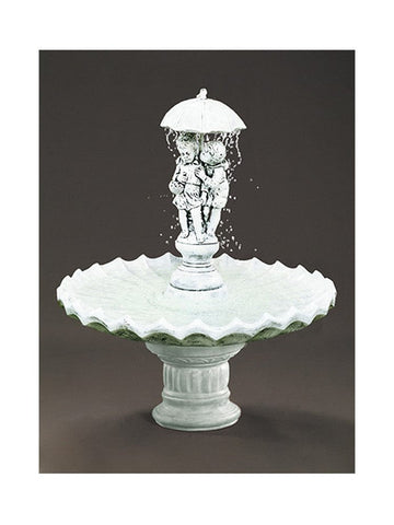 Sweetheart Garden Water Fountain - Outdoor Art Pros