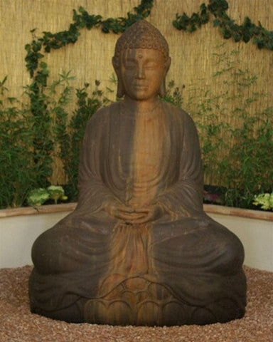 Big Buddha Garden Statue - Statuary- Outdoor Art Pros