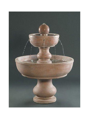 2-Tier Alonzo Garden Water Fountain - Outdoor Art Pros