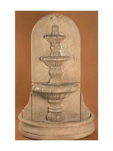 Espana Wall Outdoor Fountain - Tall - Outdoor Art Pros