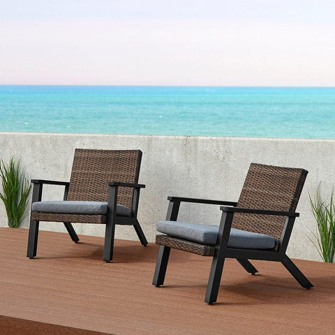 Norwood Chair Set of 2 by Real Flame - Outdoor Art Pros