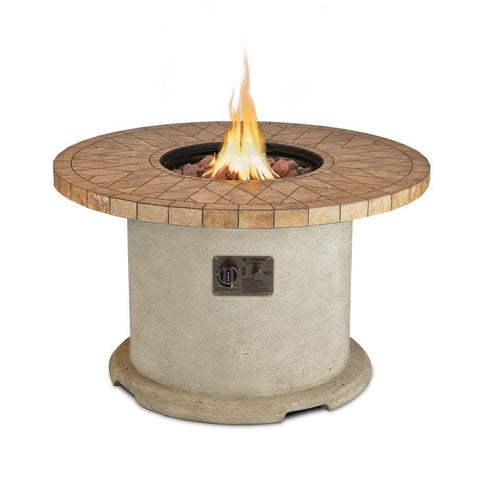 Ogden Round Propane Fire Table