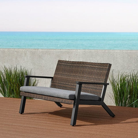 Norwood Two Seat Bench by Real Flame - Outdoor Art Pros
