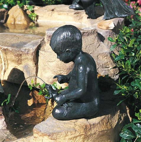 Brass Baron The Squeeze Garden Accent and Pool Statuary - Brass Baron - Outdoor Art Pros
