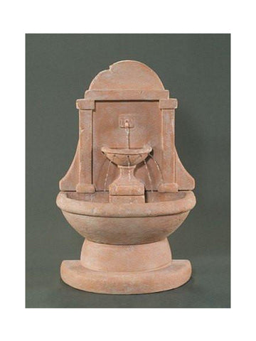 Atlantis Wall Outdoor Fountain - Short - Outdoor Art Pros