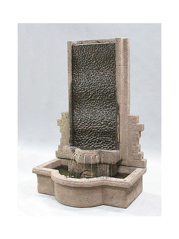 Tranquility Wall Outdoor Fountain - Outdoor Art Pros