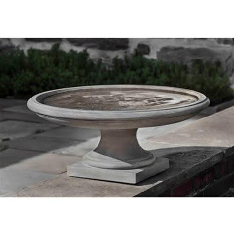 Montebello Cast Stone Birdbath - Outdoor Art Pros