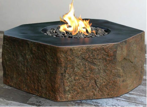 Columbia Concrete Fire Table - Outdoor Art Pros